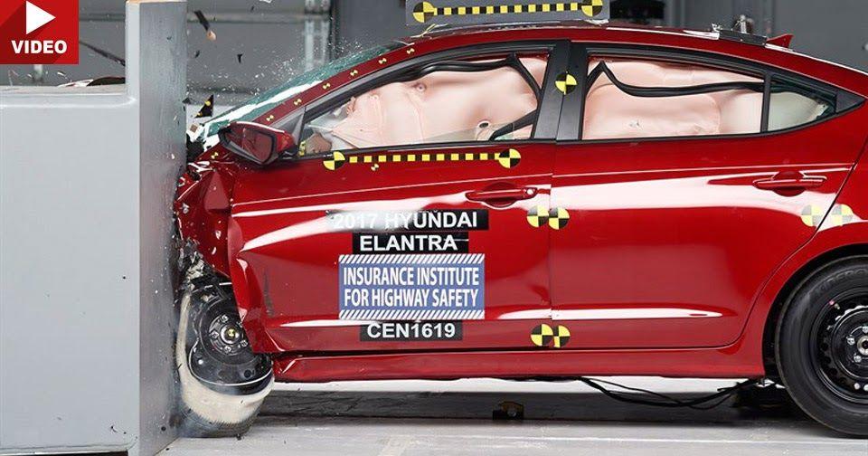 2017 Hyundai Elantra Gets Maximum Safety Rating From Iihs