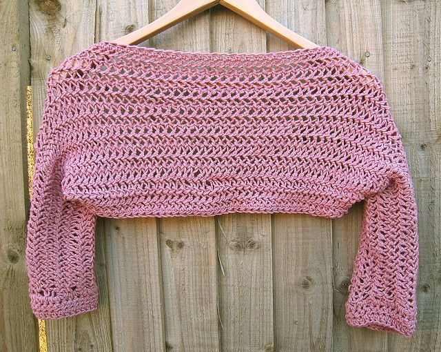 Hairpin Lace Shrug 2 | Horca, Ganchillo y Labores