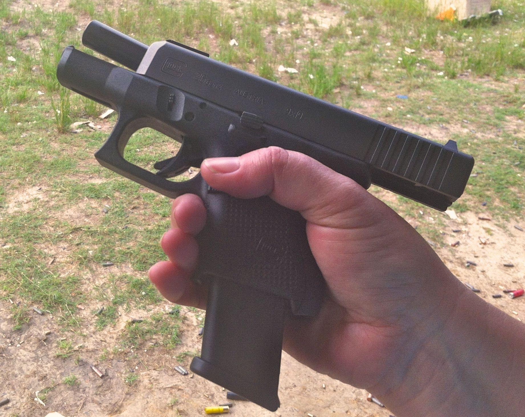 Gun Review: Gaston's G.I.L.F. - The Glock 26 Gen 4 Subcompact Pistol - My  Gun Culture