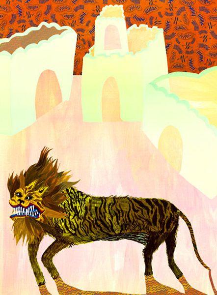 Animal Print by Liz Riccardi