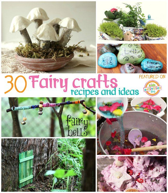 Fairy Garden Craft Ideas Part - 18: 30 Fairy Crafts And Recipes For Your Little One