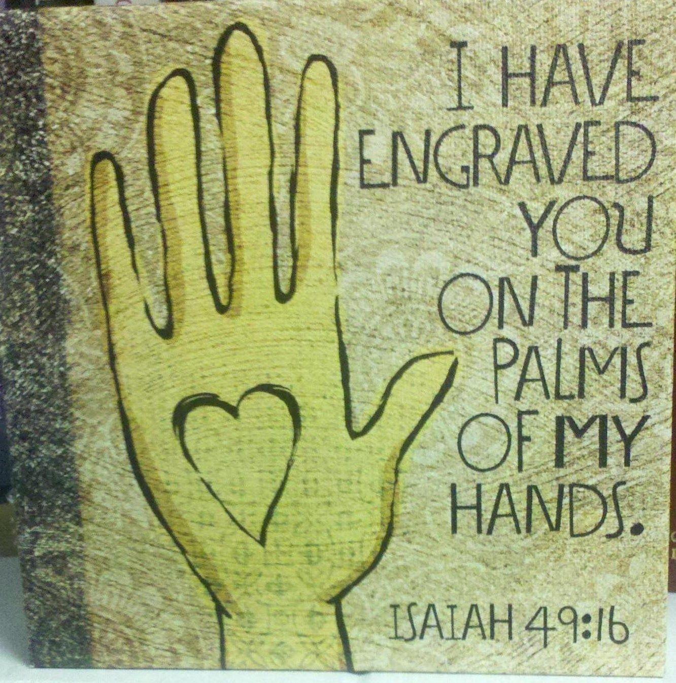 Melnyk's Musings: God's Tattoo: Written on the Heart