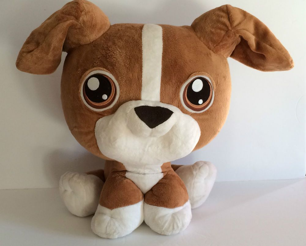 Littlest Pet Shop LPS Giant Plush Toy Boxer Dog 17 tall