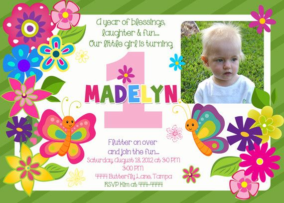 Awesome Butterfly Birthday Invitations Ideas