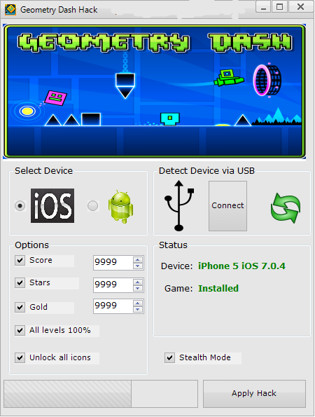 Geometry Dash Hack Tool Free Download No Survey Tool