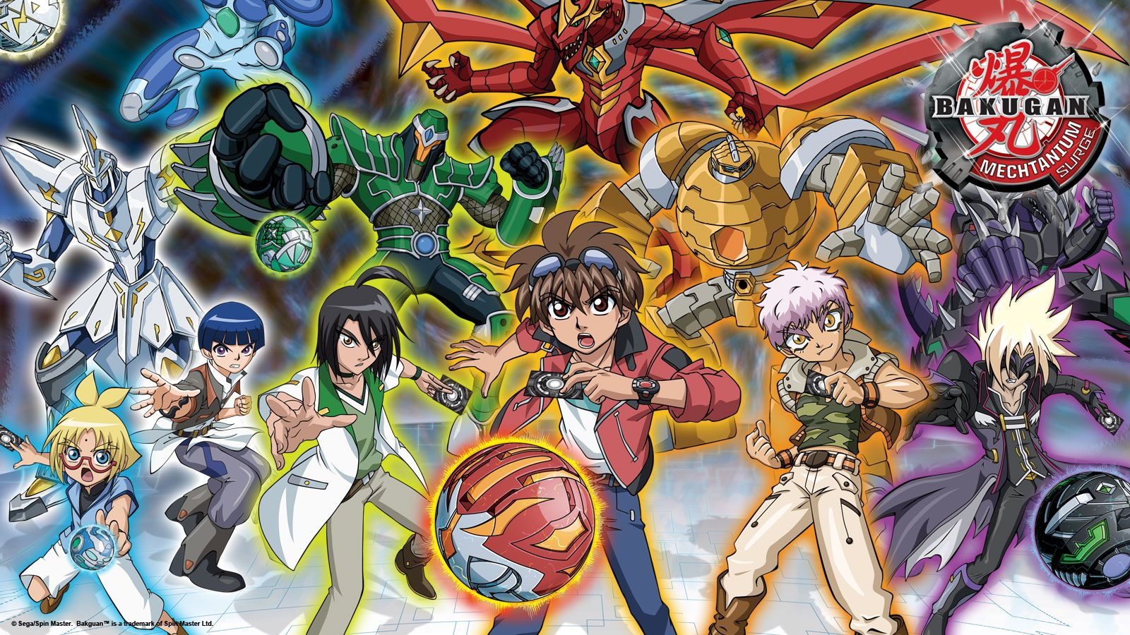 Bakugan Mechtanium Surge With Images Anime Cartoon Wallpaper