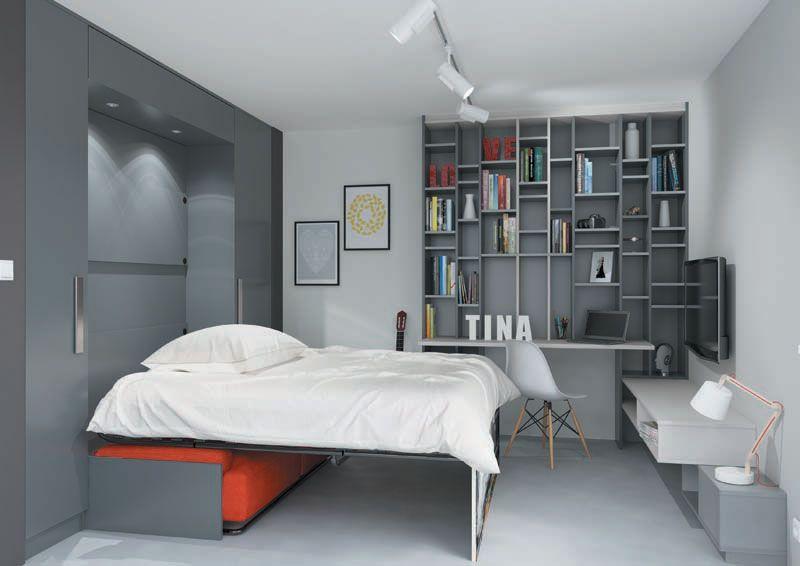 Epingle Par Quadro Rennes Sur Lits Escamotables Decoration Maison Petit Appartement Idee Chambre