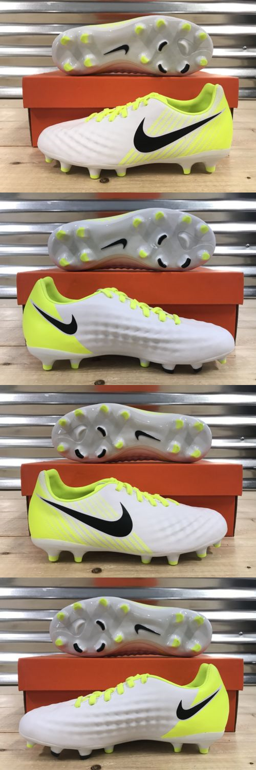 newest collection 17bc5 ae98f Youth 159177  Nike Jr Magista Opus Ii 2 Fg Soccer Cleats White Volt  Platinum Sz