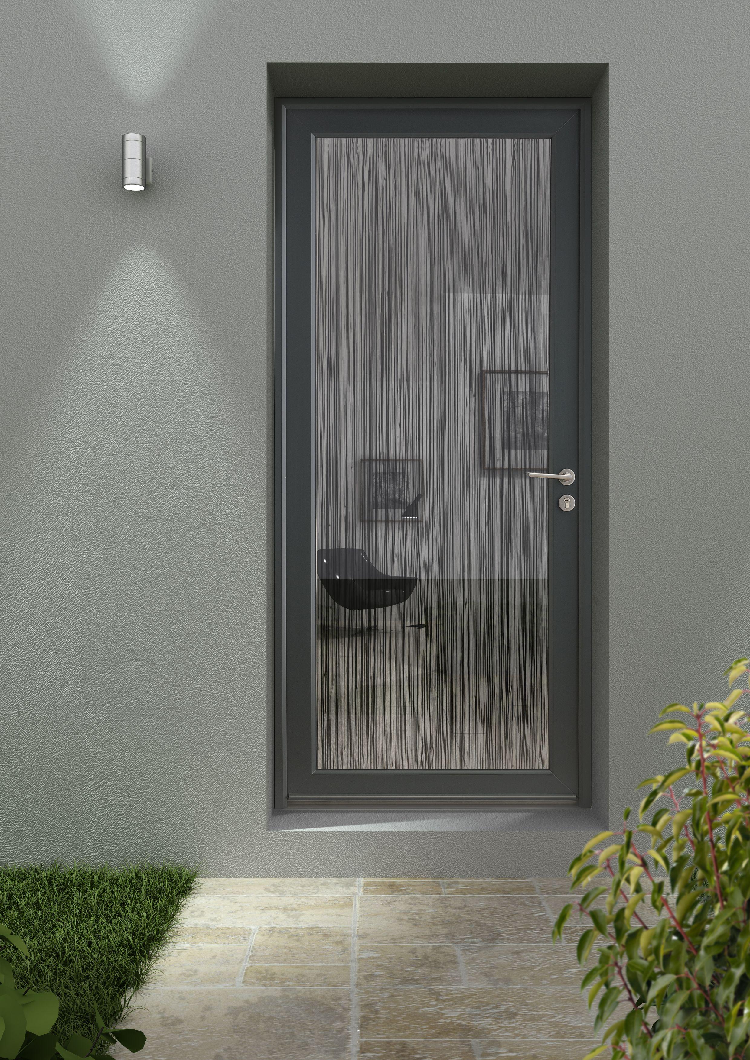 porte aluminium porte entree vitree