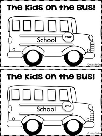 The Kids On The Bus School Bus Safety Bus Safety Wheels On The Bus
