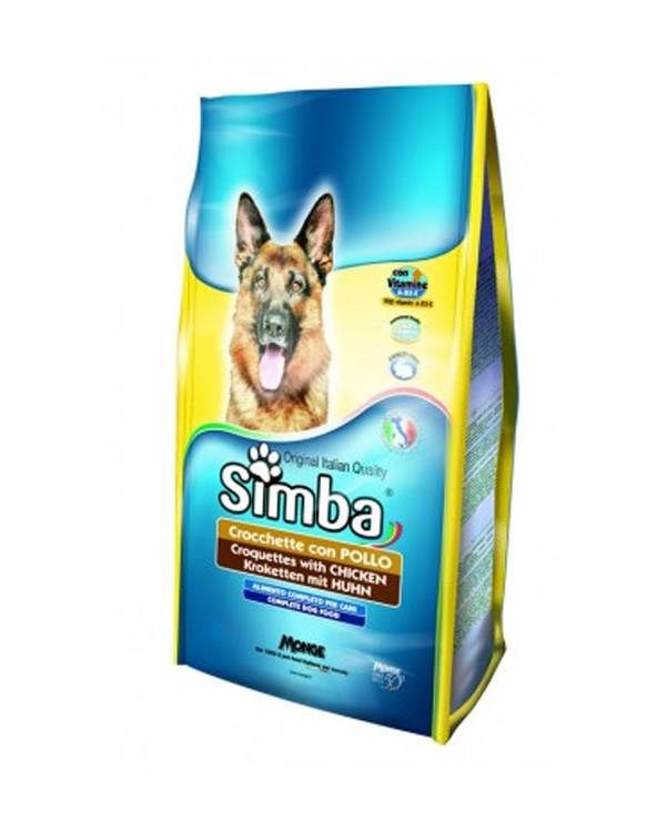 Simba Croquettes With Chicken Dog Food 10 Kg Dog Food Recipes Chicken Dog Food Recipes Dog Food Allergies