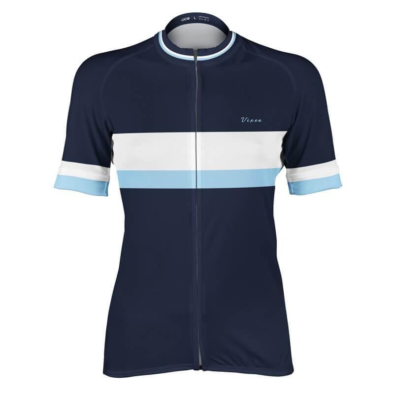 Women s Vixen Series 1 Retro Stripe Cycling Jersey 92cca7cd8