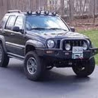 I Like The Stance Of This Jeep Liberty And Those Are Stock Rims