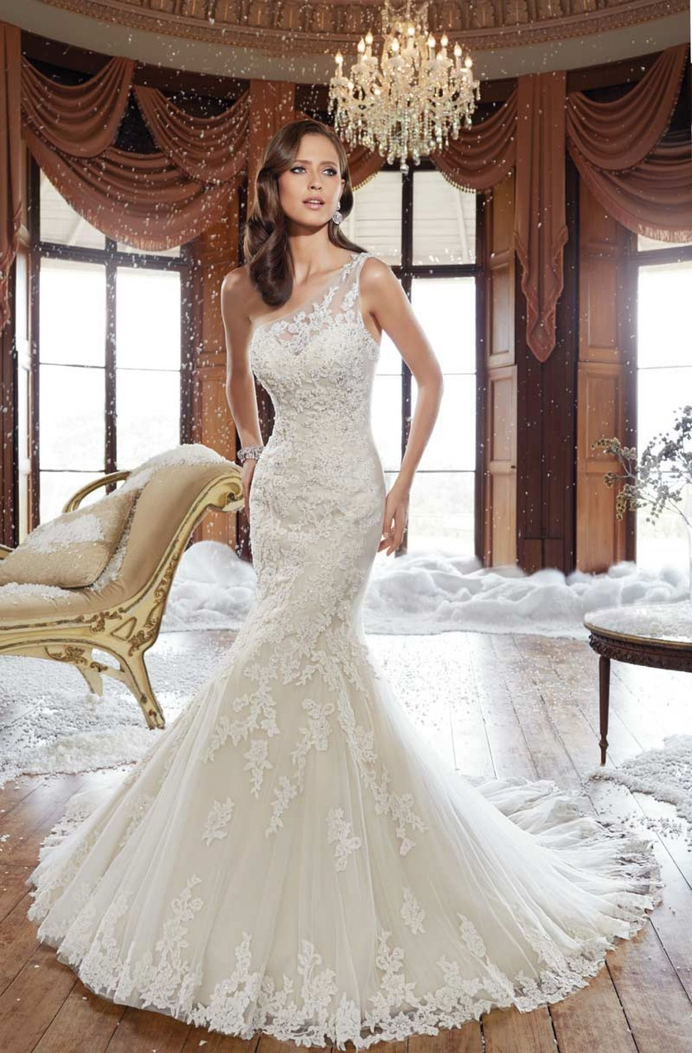 Dress for wedding party female  Pin by Annora on Popular Wedding Dress  Pinterest  Strap wedding