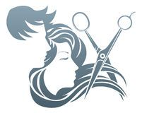 Man And Woman Hairdresser Scissors Concept Download From Over 54 Million High Quality Stock Photos Images Vec Hair Salon Logos Hair Logo Design Hairdresser