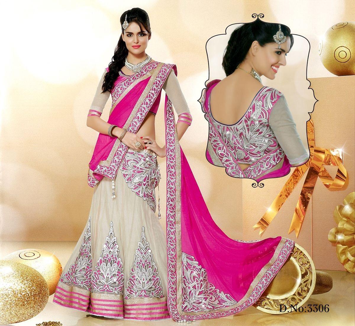 Bollywood Lehenga Choli AS004-Sarees-Ethnic Empire | INDIA | Pinterest