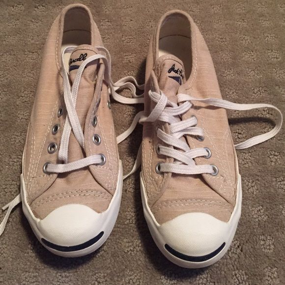 Converse-- khaki colored Jack Purcell Converse-- Jack Purcell shoes. Khaki colored Converse Shoes