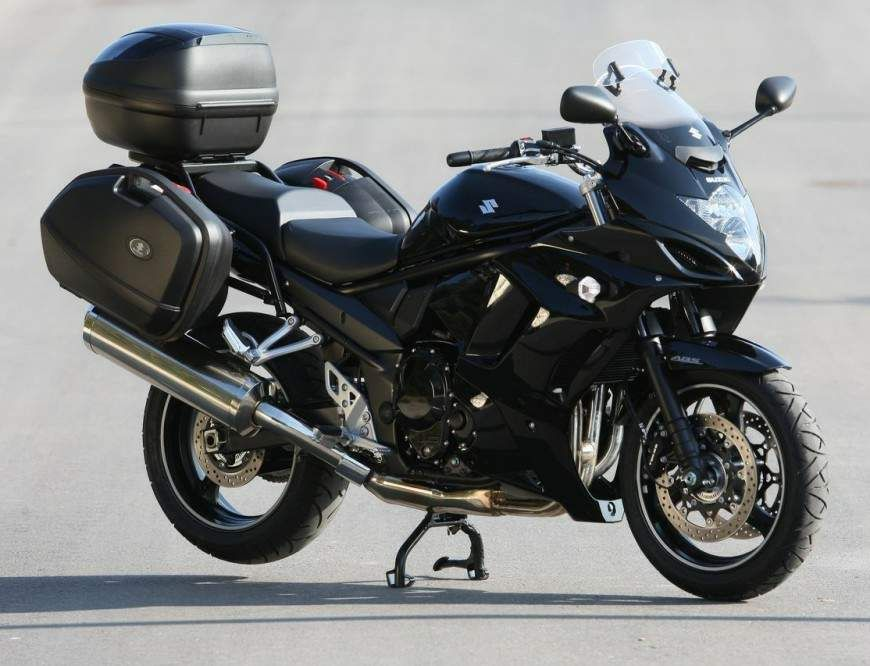 suzuki gsx1250fa traveller the bandit touring bike. Black Bedroom Furniture Sets. Home Design Ideas