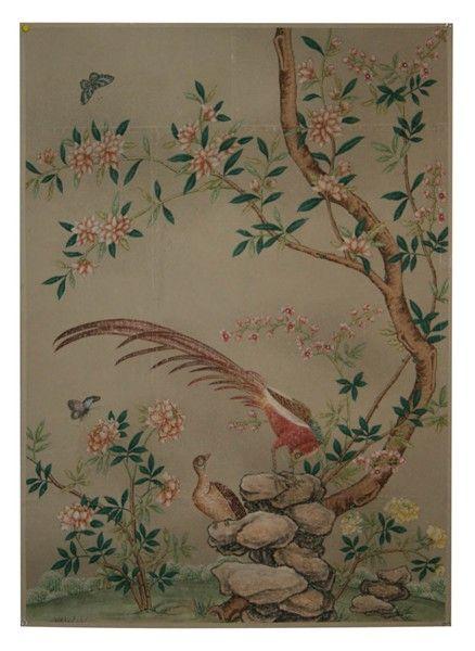 Wallpaper From The 1800 S Illustration Art Antique House Vintage Wallpaper