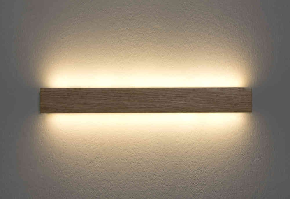 Aplique de pared manolo led madera ole l mparas para for Apliques iluminacion exterior pared