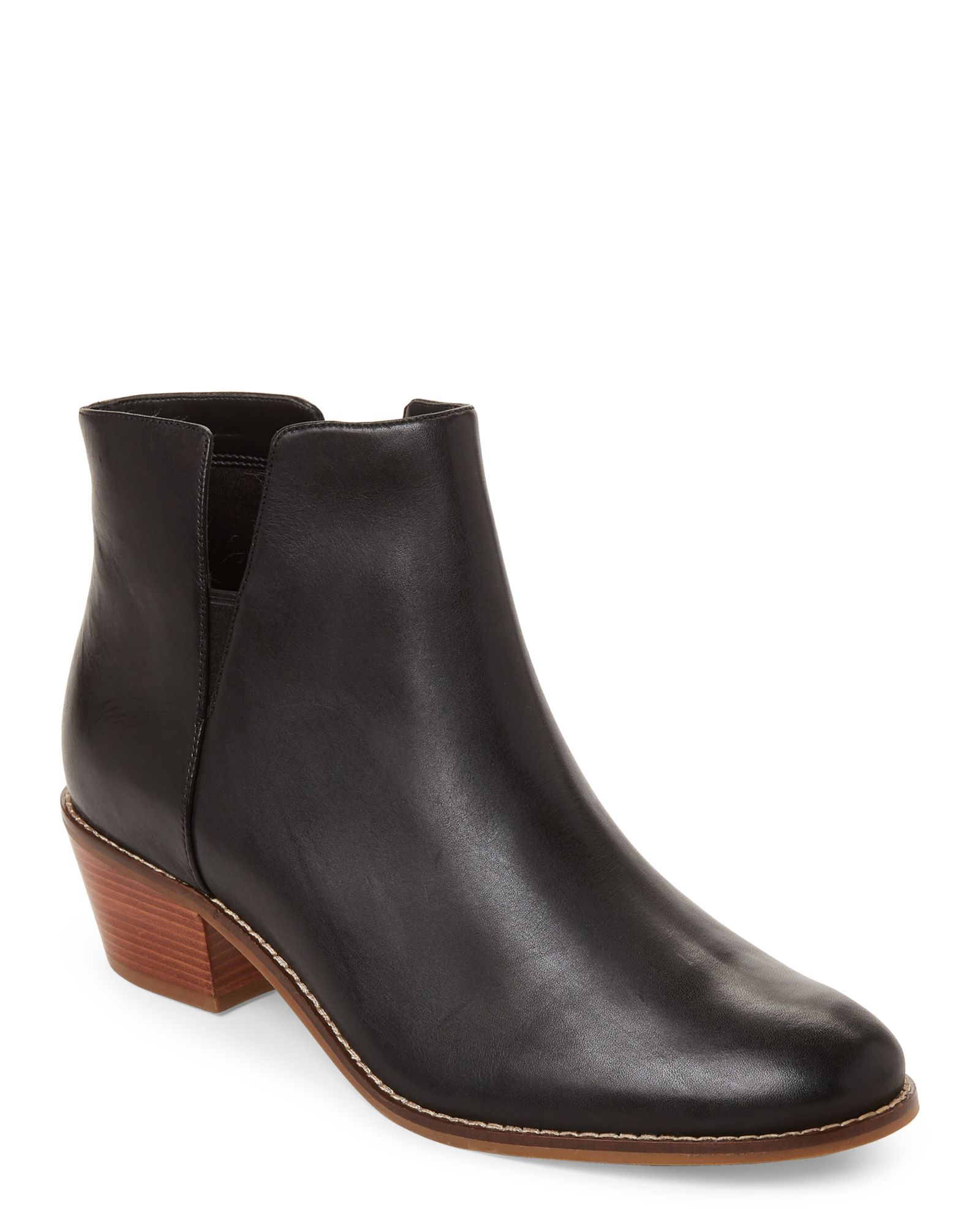 898779a658e Cole Haan Black Abbot Leather Ankle Booties | *Apparel & Accessories ...