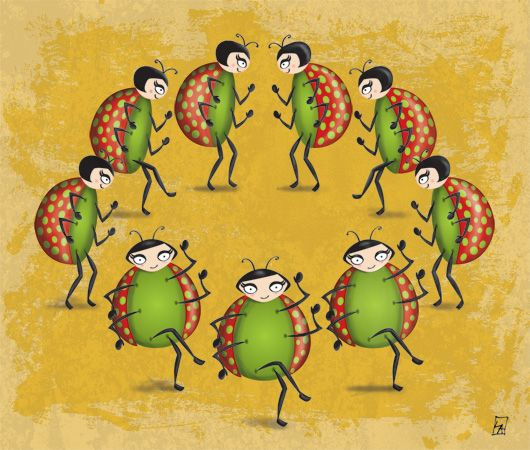 Ninth Day Of Christmas.12 Days Of Christmas 9 Ladies Dancing On The Ninth Day Of