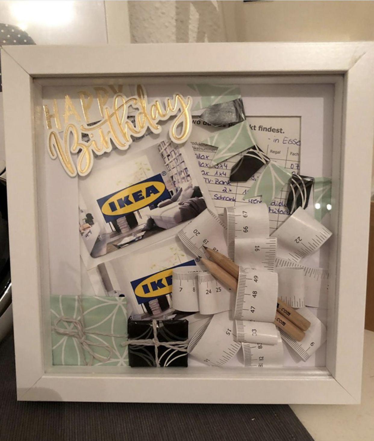 Ikea Gutschein Geschenke Gutschein Geschenke Geburtstag Geschenke Selber Machen