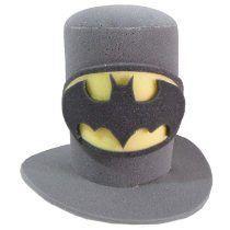 1pz De Sombrero Batman Eventos Fiestas Bodas Y Cotillón  a02ba02bf01