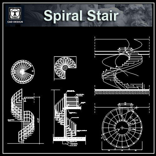 Best Free Spiral Stair Details Architecture Stair Detail 400 x 300