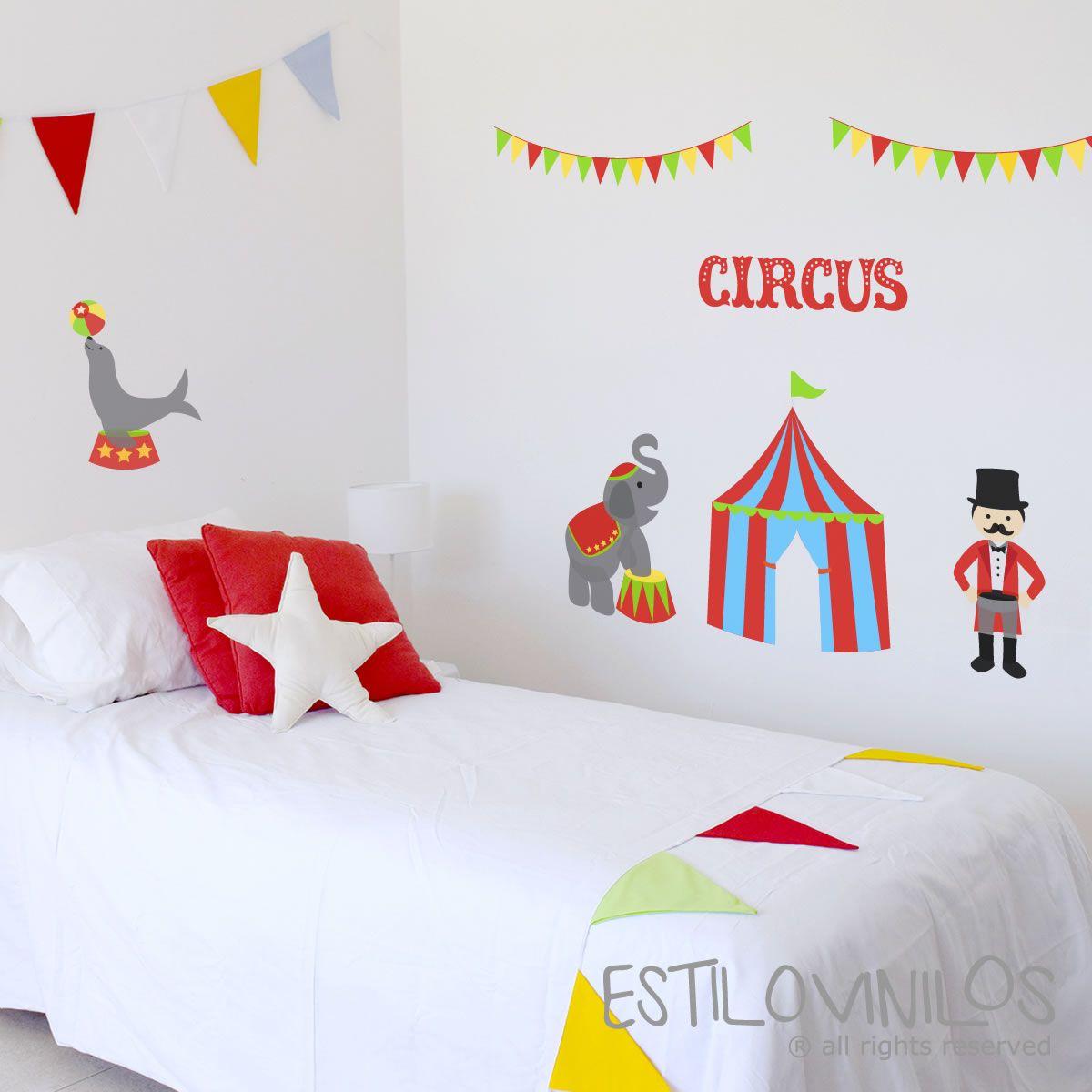 Vinilo Circo Casa Pinterest # Muebles Nieto Andujar