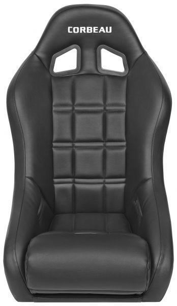 Corbeau 68801 Baja XP Suspension Seat in Black Vinyl   Jeeps