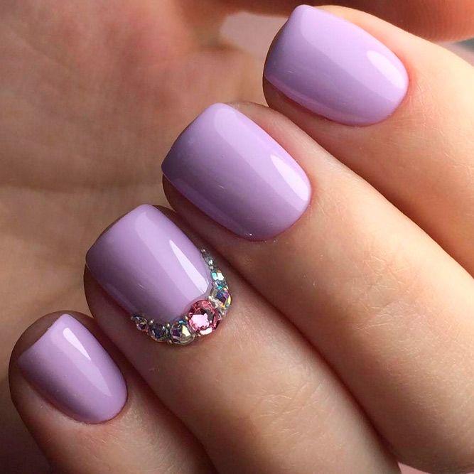 55 Fabulous Summer Nail Colors Naildesignsjournal Com Lavender Nails Spring Nail Colors Cute Summer Nails
