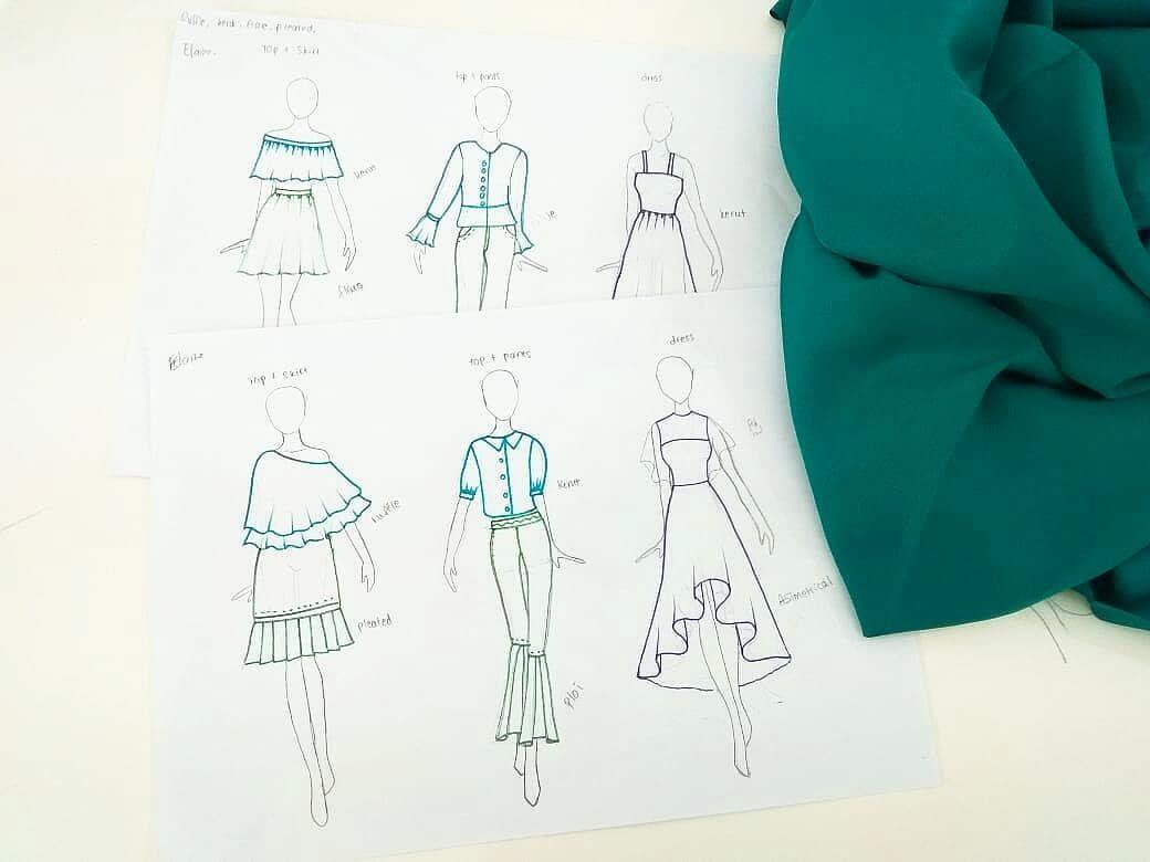 La Finch Fashion Design Course On Instagram Detailing Sketch By Lafinchstudent Design Course Fashion Design Design