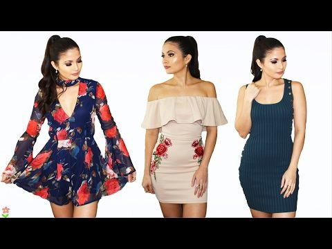 Ropa bonita buena y barata fashion nova try on haul bessy dressy youtube moda - Ropa interior bonita y barata ...