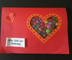 Basteln Für Muttertag süße muttertagskarte day muttertagskarte