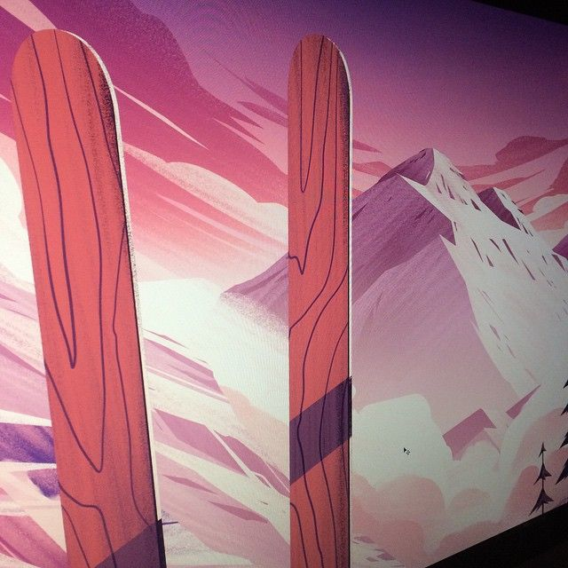 Preview of a new piece that just went to the printer… More next week!!