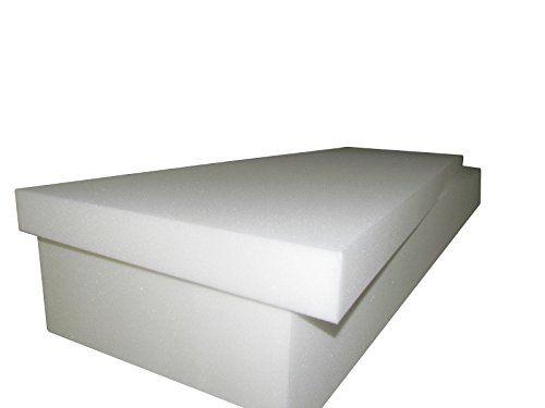 Foam Cushion 8 T X 30 W X 80 L 1536 Medium Firm Seat Replacement Foam Cushion Upholstery Foam Slab Foam Pa Upholstery Foam Foam Mattress Cushions On Sofa