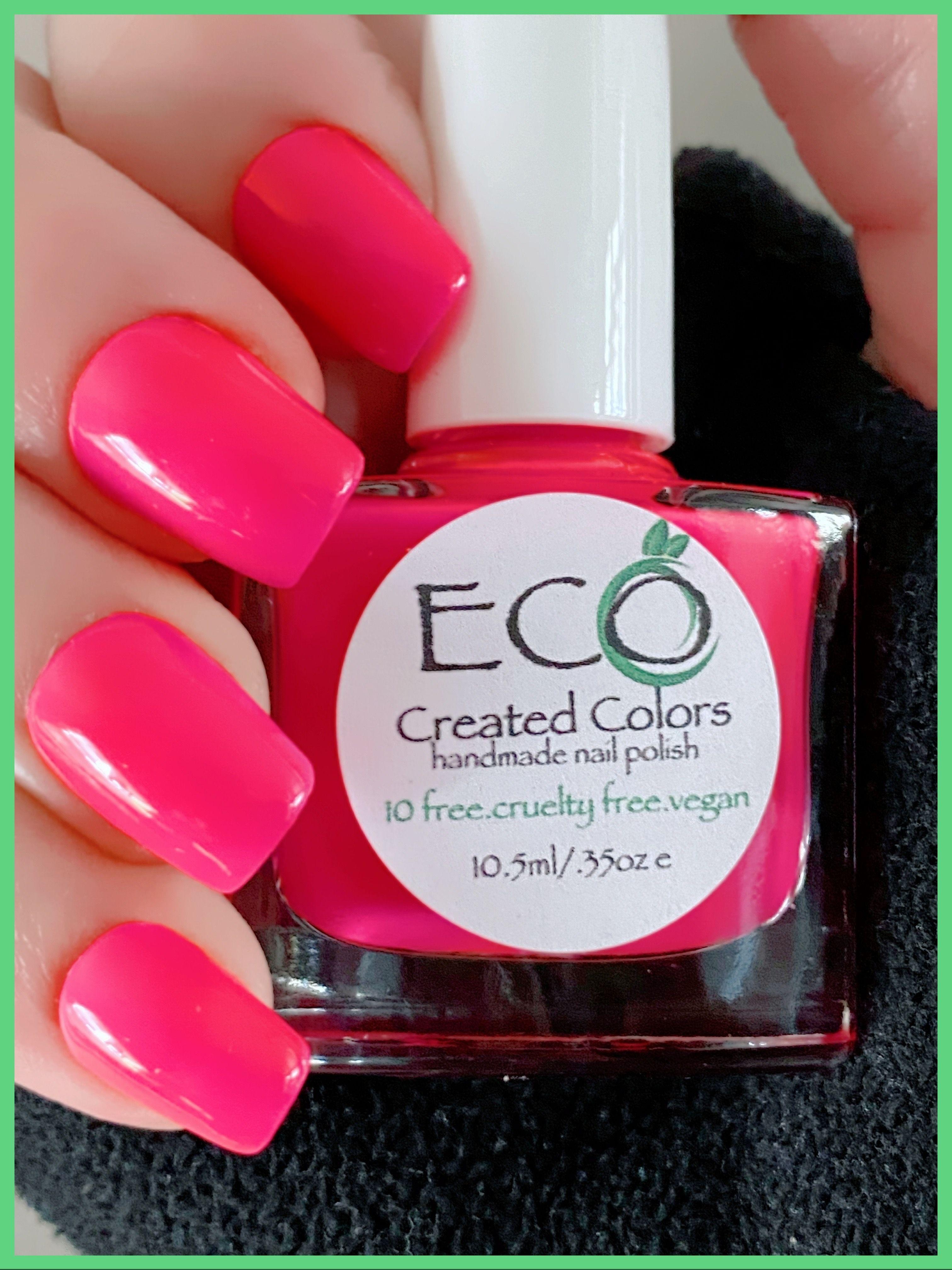 Pink Nail Polish Nail Lacquer 10 Free Nail Polish Vegan Etsy Nail Polish Free Nail Polish Pink Nail Polish