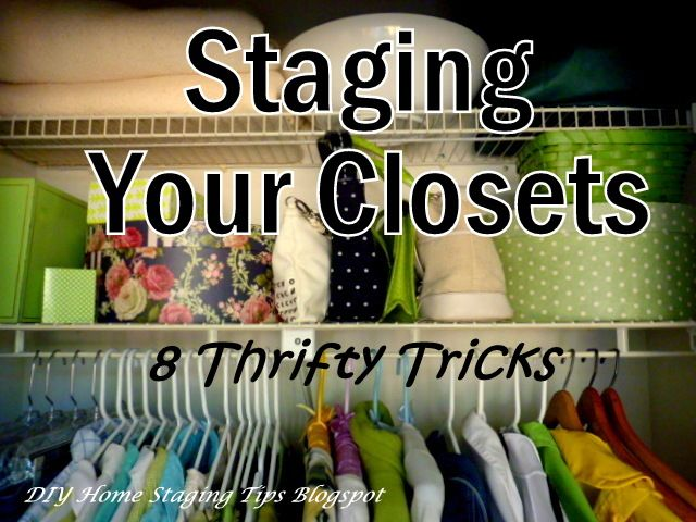Staging ideas for selling home