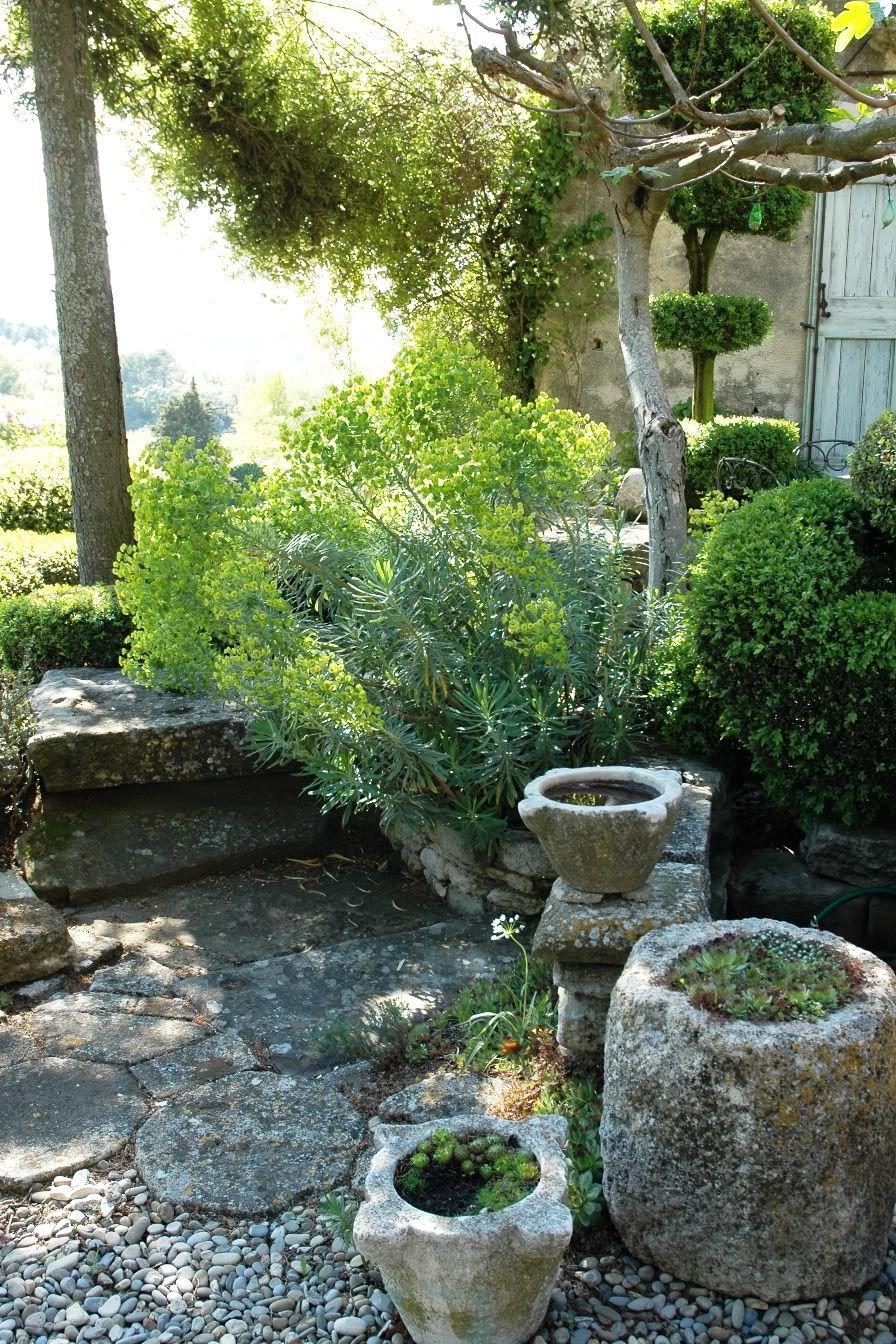 La Louve Garden In Bonnieux Provence