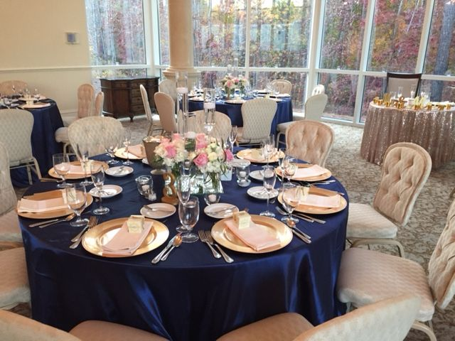 Navy Blue Gold And Blush Pink Combination Navy Blue Gold In
