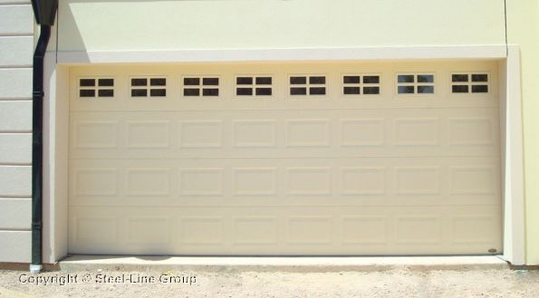 Heritage Sectional Garage Door With Stockton Windows