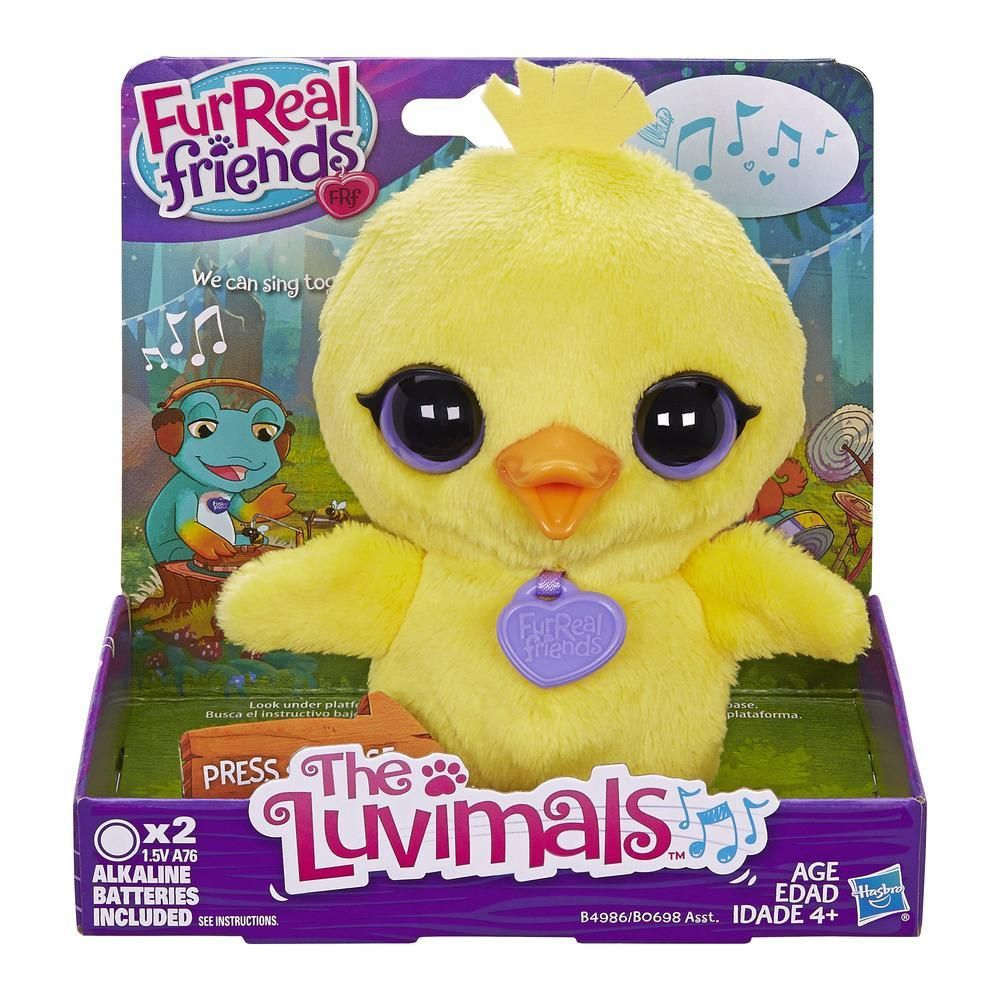 Furreal friends baby snow leopard flurry review robotic dog toys - Furreal Friends The Luvimals Flappers