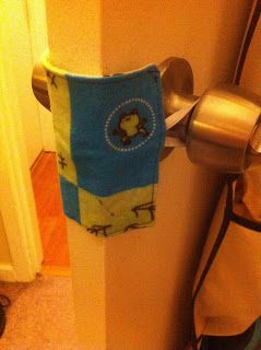 Do-It-Yourself DIY Door Silencer. If you ever need anything like that..