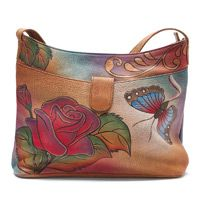 hobo painted rose purse