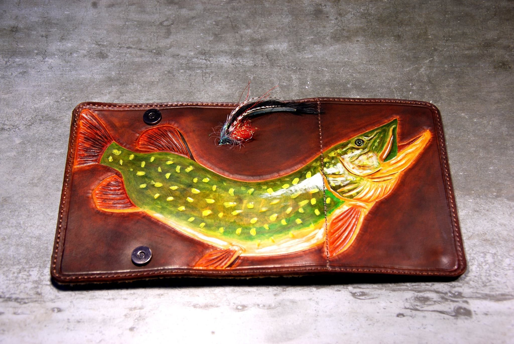 Fly WALLET fly fishing accessories.