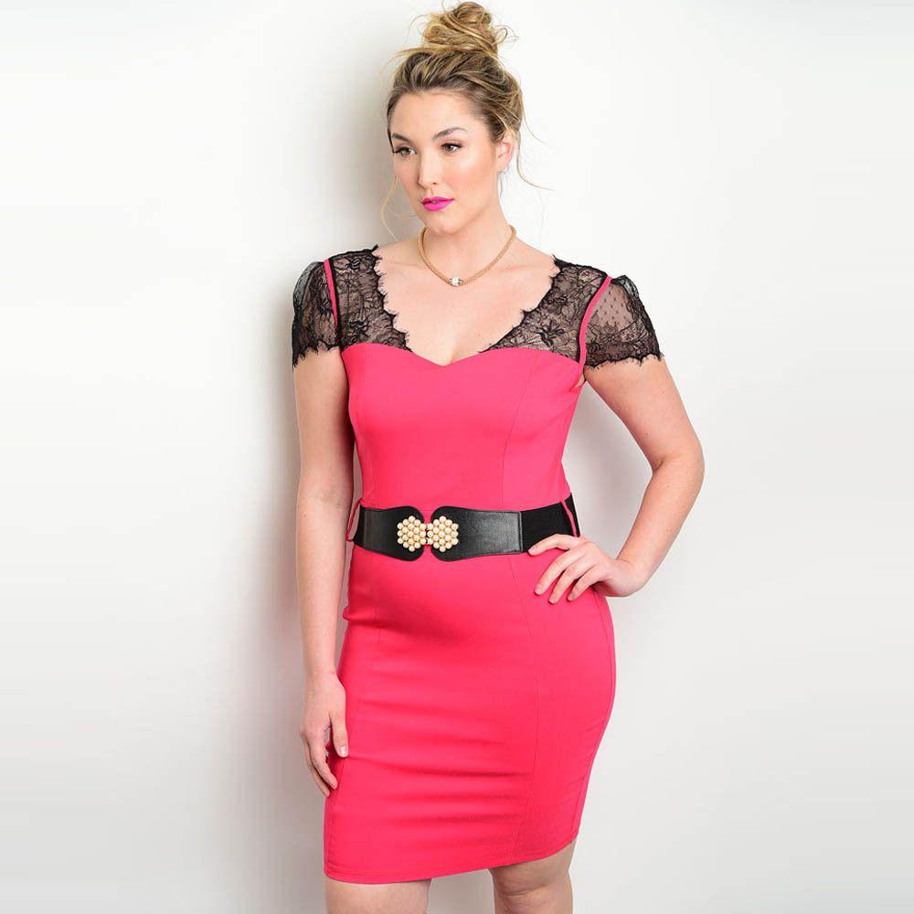 Shop the trends womenus plus size short sleeve mini bodycon dress