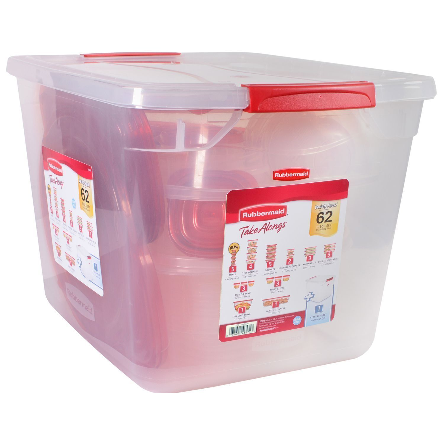 Rubbermaid Food Storage Containers Home & Garden