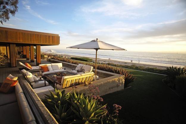 Beachfront home by landscape architect Keith LeBlanc Photo Jim - umgestaltung krautergarten dachterrasse