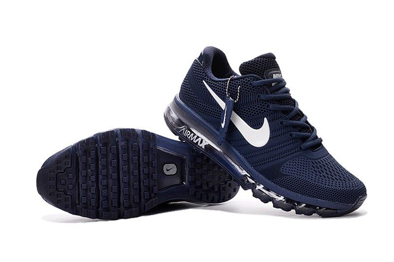 reputable site d4a97 2fbed Nike Air Max 2017 Men Dark Blue Shoes